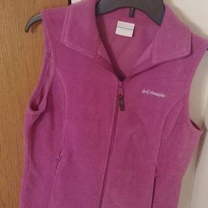 Columbia sleeveless fleece vest